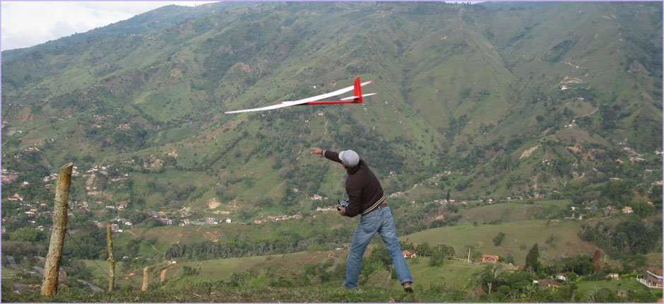 launching Spyder glider