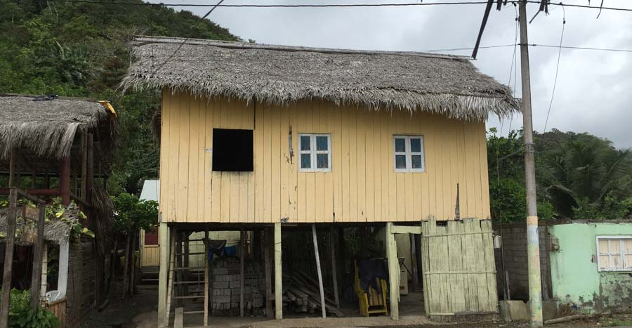house in Cabo San Francisco, Ecuador
