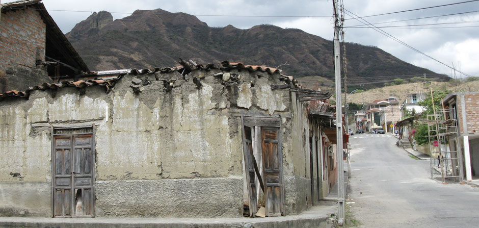 vilcabamba old house