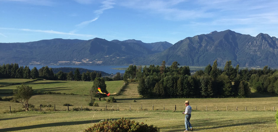 rc electric flying in Pucon