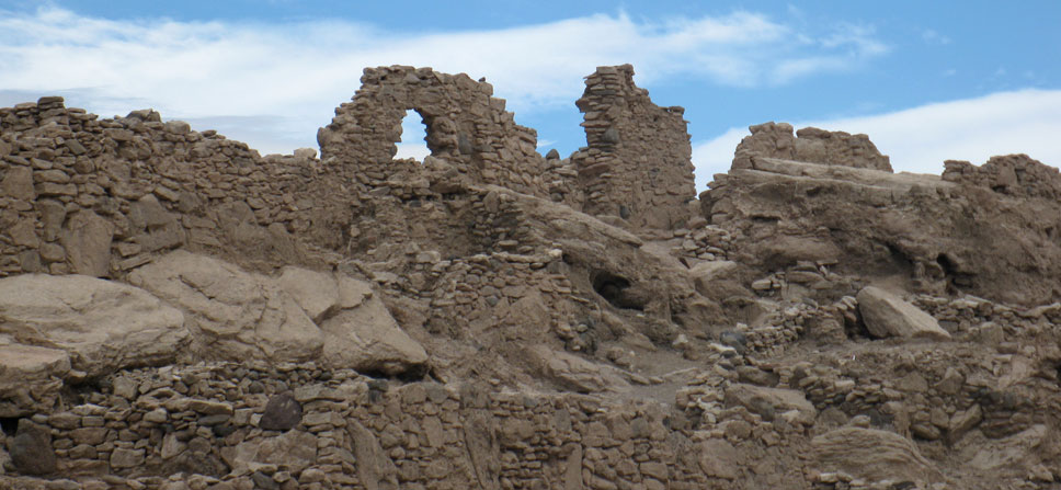 fortress ruins