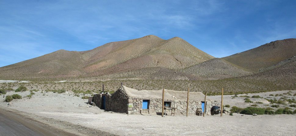 typical altiplano house