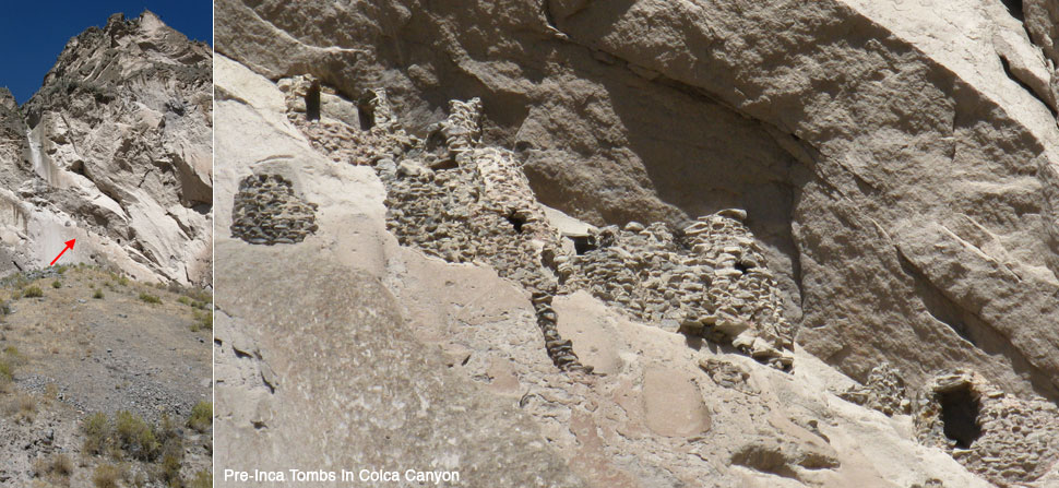 pre-Incan tombs