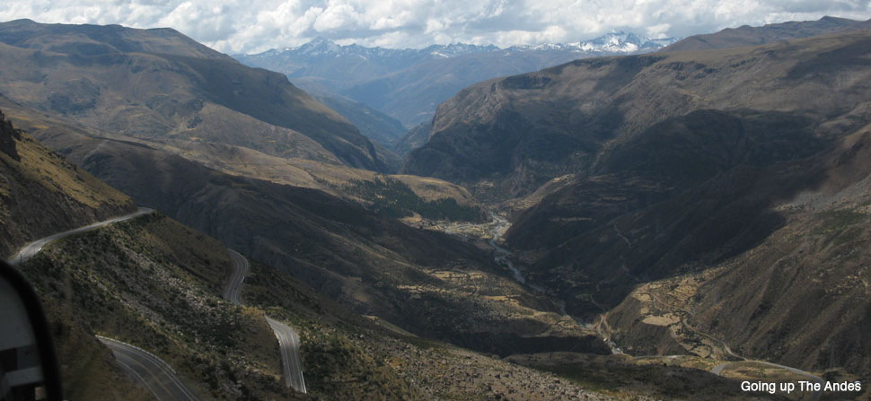 Andes highway