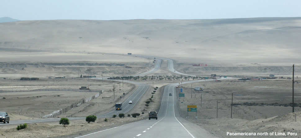 panamericana south of lima peru