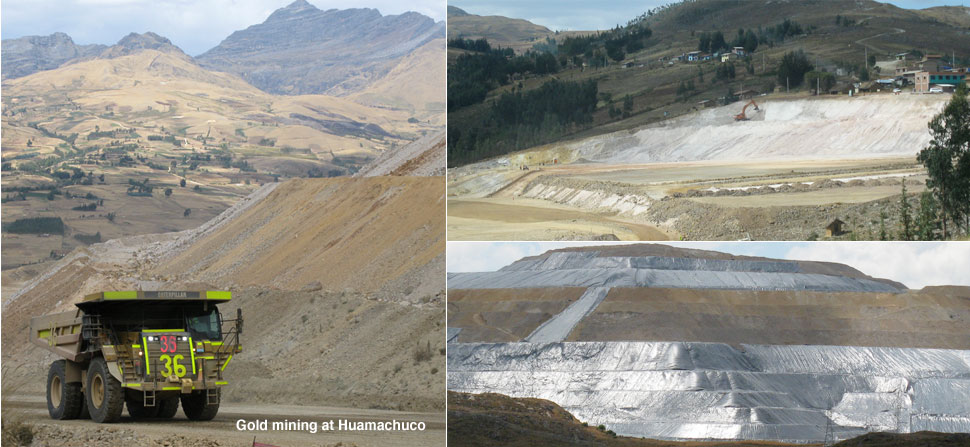 Huamachuco gold mine